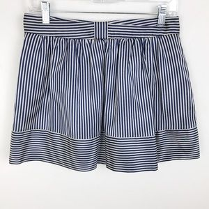 Ted Baker Striped Mini Skirt Size 4 Ted Size 1
